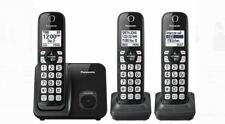 Panasonic KX-TGD513B Expandable Cordless Phone w/Call Block -3 Handsets - A