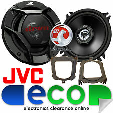 VOLVO V40 1996 - 2014 JVC 13cm 520W 2 VIE PORTA ANTERIORE ALTOPARLANTI AUTO & STAFFE