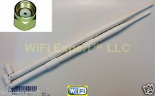 White 9dBi RPSMA Antennas for D-Link DIR-825 Buffalo WHR-HP-G300N R10000G R10000