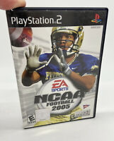 NCAA Football 2005 (Sony PlayStation 2, 2006) PS2 Complete with Book