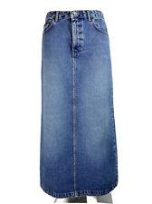 DKNY Jeans Womens Denim Maxi Long Skirt Blue size 8