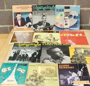 8 x Job Lot of Vinyl Records LPs DJANGO REINHARDT Various Titles, JAZZ - 232