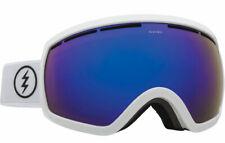 Electric EG2.5 Ski Snowboard Goggles- Gloss White Blue Chrome + Low light Lens