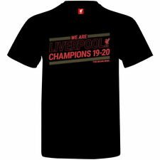 Ливерпуль черная футболка 2019-20 Премьер Лиги чемпионов официально лицензированный