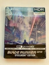 Blade Runner 2049 w/ Steelbook Case (4K Uhd + 3D/2D Blu-ray, 3 Discs) *New*