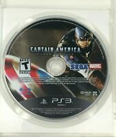 Captain America: Super Soldier for PlayStation 3 PS3 Game Disc Only