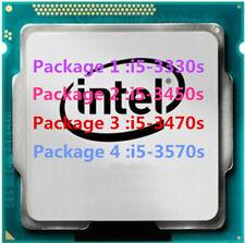 Intel Core i5-3330S i5-3450S i5-3470S i5-3570S CPU Quad-Core LGA1155 Processors