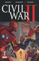 CIVIL WAR II #1 CVR A Marvel Comics 2016 NM CIVIL WAR 2