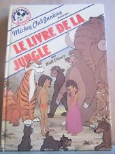 Walt Disney: Le livre de la jungle/ Mickey Club Juniors, 1984