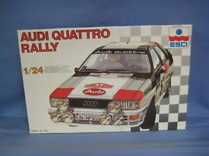 ESCI Audi Quattro Rally Model Car Kit, 1/24 Scale, #3026, SEALED PARTS BAG