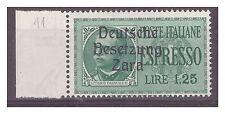 ZARA  1943  ESPRESSI -  LIRE 1,25  -  POS 11   NUOVO **