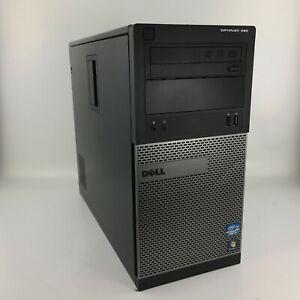 Windows 7 or 10 / 32 or 64 BIT Dell 390 Tower PC Computer Core i3 - 4GB - 250GB