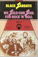 Black Sabbath ‎.. We Sold Our Soul For Rock 'N' Roll Vol 2.. cassette. Import