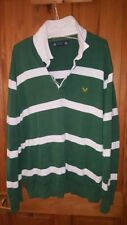 Crew Clothing XXL 2XL bundle striped rugby style jersey and t-shirt