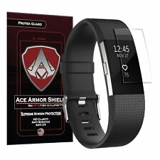 The Original Ace Armor Shield Fitbit Charge 2 Screen Protector (6 PACK)