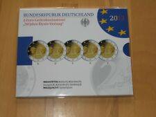 "2 euro Gedenkmünzenset 2013"" 50 Années Elysee-traité ""PP, 5x2 Euro, Allemagne"