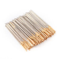 90~100PCS Golden Tail Embroidery Fabric Cross Stitch Needles Sizes 24 For 11CT