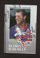 Cleveland Indians--Jim Thome--2002 Pocket Schedule--OfficeMax