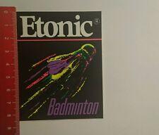 Aufkleber/Sticker: Etonic Badminton (280916100)