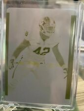 2015 National Treasures Stephone Anthony RC Yellow Printing Plate True 1/1