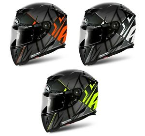 SALE AIROH GP500 SECTORS Carbon Mix MotoGP Light Motorbike Helmet