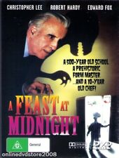 A FEAST At MIDNIGHT (Christopher LEE Edward FOX) COMEDY Film DVD NEW SEALED