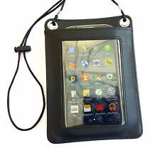 Leder Brustbeutel für Smartphone Schutzhülle Brusttasche Handy Umhängetasche
