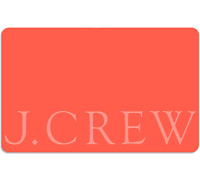 J. Crew Gift Card - $25 $50 or $100 - Email delivery