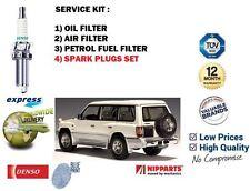 Per Mitsubishi Pajero 3.5 V6 V45 6G74 1997 - > ARIA OLIO COMBUSTIBILE 3 FILTRO + CANDELE