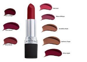 Avon True Colour Delicate Matte Lipstick - Various shades, new, sealed