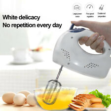 Electric Hand Mixer 5-Speed Hand Mixer with Turbo Handheld Kitchen Mixer Beater