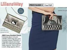 Lipsy Studded Clutch Bag (AVON) with Chain Strap~BRAND NEW & SEALED