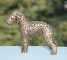 "Bedlington Terrier: Cold-Cast Bronze Figurine 5.25"" Long #63-017"