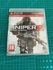 Sniper 2 Ghost Warrior Limited Edition Ps3 Sony