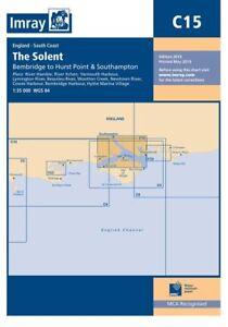 Imray Nautical Sea Chart C15 The Solent Sailing