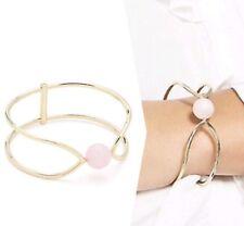 ❤️❤️❤️ Mimco Mystica Bangle Shell Pink Bracelet + Dust Bag ❤️❤️❤️