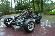 RTR New Brushless VXL Traxxas Rustler Sand Rail with USED Roll Cage
