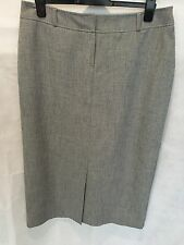 Ladies Skirt M&Co. Fully Lined Long Size 18 Grey
