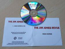 THE JIM JONES REVUE High Horse 2010 UK 1-track promo test CD