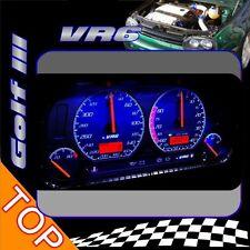 Golf 3 VR6 Tacho 320km / 8000Umin  blaue Beleuchtung