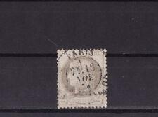 timbre France Cérès    4c gris    num  52   oblitéré