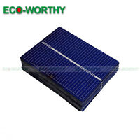 20pcs 52x39mm Poly Solar Cells for DIY Solar Panel Battery Charger Toy Gift
