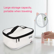 Makeup Bag Semi-Transparent Large Capacity Waterproof Traveling Cosmetic Bag