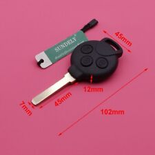 Replacement Remote Key Fob 434MHz + 7941 Chip for Smart Fortwo 451 2007-2013
