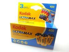 3 x KODAK ULTRAMAX 400 35mm 24exp CHEAP COLORE Pellicola per 1st Class Royal Mail