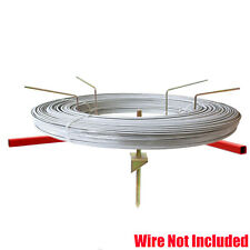 Wire Fence Spinning Reel Dispenser Feeder for Plain Barb Electric Fencing Wire