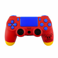 One Piece Monkey D Luffy PS4 Slim Pro Controller Shell Case Replacement Mod Kit