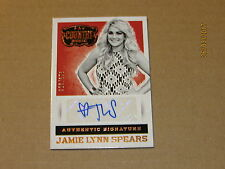 2015 Country Music Signatures #44 Jamie Lynn Spears SN 326/376