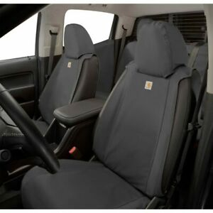 2015-2022 Colorado Canyon Front & Rear Seat Covers Gravel w/ Armrest OEM GM