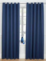 WOVEN BLACKOUT CURTAINS - 75mm TAPE TOP & RING TOP CURTAINS - READY MADE